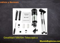 analisisi great wall f30070 telescopio astronomico
